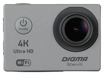 Экшн-камера Digma DiCam 410 серый (DC410)