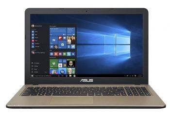 "Ноутбук 15.6"" Asus VivoBook X540NA-GQ005 черный (90NB0HG1-M04350)"