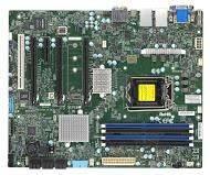 Серверная материнская плата Soc-1151 SuperMicro MBD-X11SAT-F-B ATX