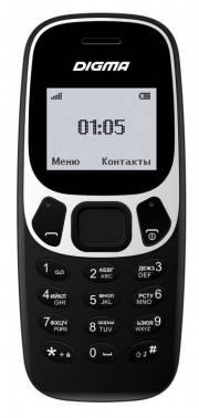 Мобильный телефон Digma A105N 2G Linx черный (LT1046PM)