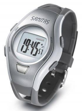 Часы-пульсометр Sanitas SPM10 серый