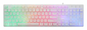 Клавиатура Oklick 550ML белый