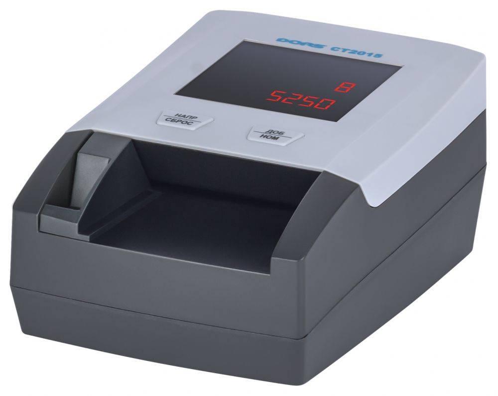 Детектор банкнот Dors CT2015 серый (SYS-040210) - фото 2