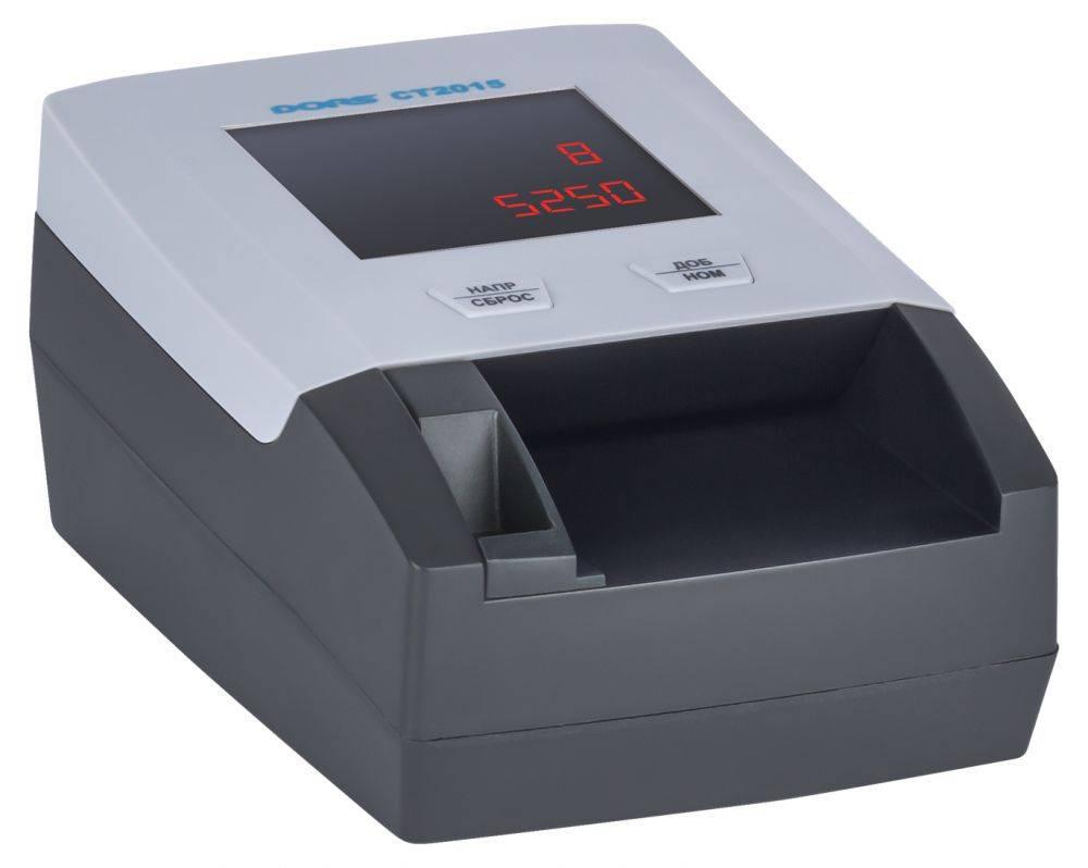 Детектор банкнот Dors CT2015 серый (SYS-040210) - фото 6