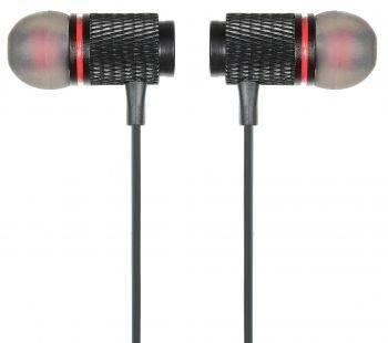 Гарнитура Digma BT-05 черный/красный (E702BT)