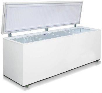 Морозильный ларь Бирюса Б-680VKY белый