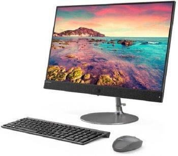 "Моноблок 23.8"" Lenovo IdeaCentre 730S-24IKB темно-серый (F0DX001DRK)"