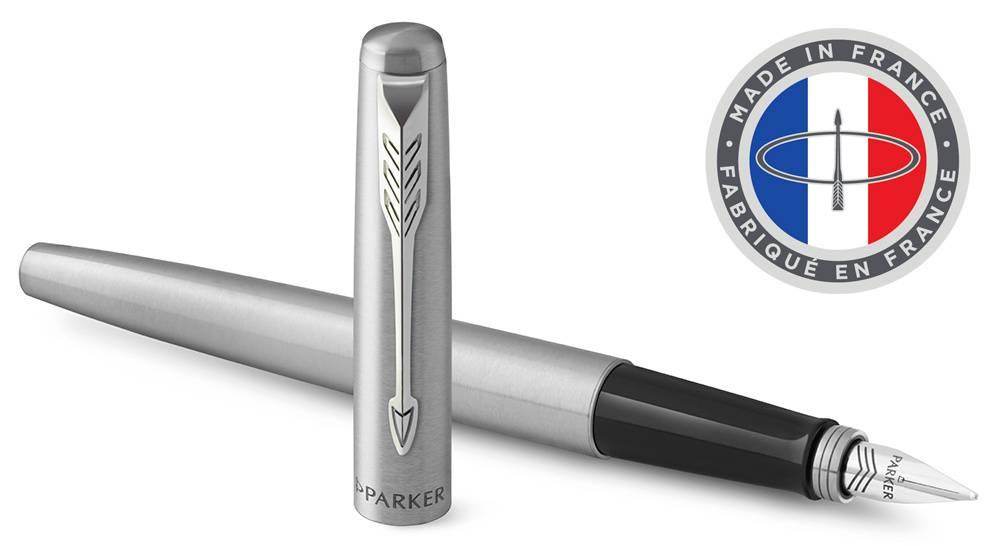 Ручка перьевая Parker Jotter Core F61 Stainless Steel CT (2030946) - фото 1