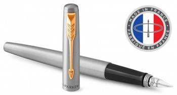Ручка перьевая Parker Jotter Core F691 Stainless Steel GT (2030948)