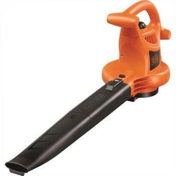 Воздуходувка-пылесос Black & Decker GW2500-QS оранжевый/черный