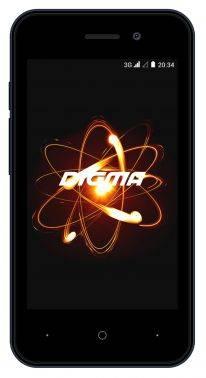 Смартфон Digma Linx Atom 3G 4ГБ темно-синий (LT4049PG)