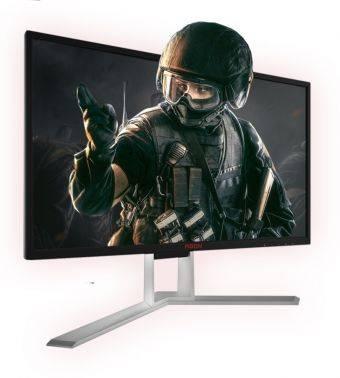 """Монитор 24.5"""" AOC Gaming AG251FG черный"""