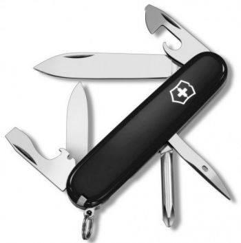 Нож со складным лезвием Victorinox Tinker черный (1.4603.3R)