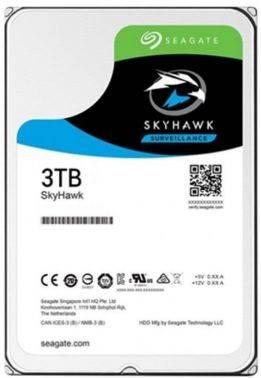 Жесткий диск 3Tb Seagate Skyhawk ST3000VX009 SATA-III