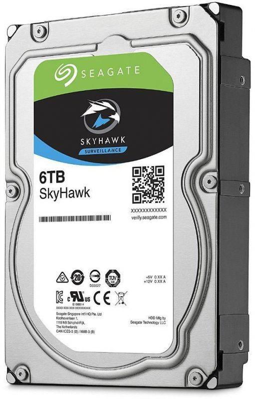Жесткий диск 6Tb Seagate Skyhawk ST6000VX001 SATA-III - фото 1