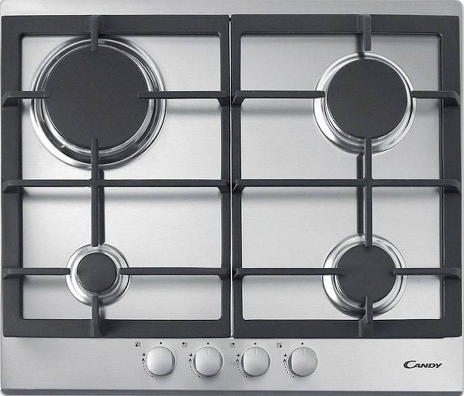 Газовая варочная поверхность Candy CPG 64SGX нержавеющая сталь - фото 1