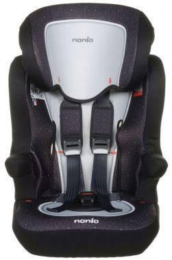 Автокресло детское Nania Imax SP FST (skyline black) черный/красный (908098)
