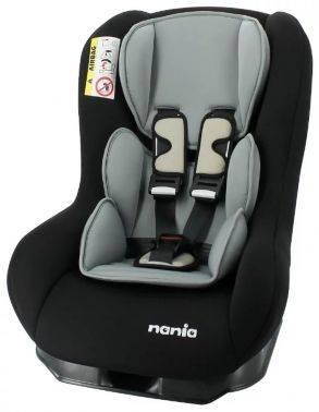 Автокресло детское Nania Maxim ECO (smoke) черный (078005)