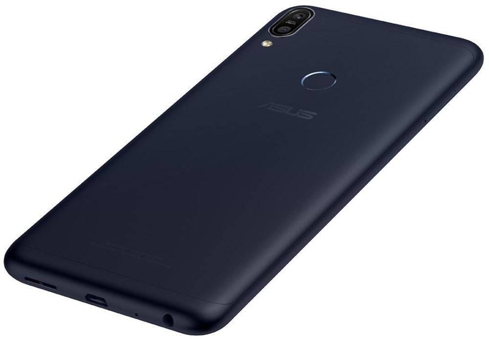 Смартфон Asus ZenFone Max Pro M1 ZB602KL 32ГБ черный (90AX00T1-M00050) - фото 9