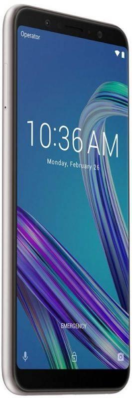 Смартфон Asus ZenFone Max Pro M1 ZB602KL 64ГБ серебристый (90AX00T2-M00080) - фото 5