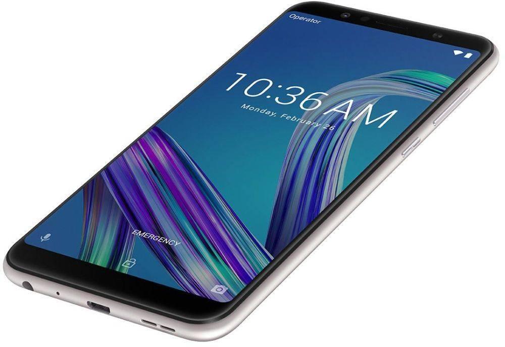 Смартфон Asus ZenFone Max Pro M1 ZB602KL 64ГБ серебристый (90AX00T2-M00080) - фото 8
