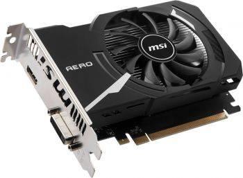 Видеокарта MSI GeForce GT 1030 2048 МБ (GT 1030 AERO ITX 2GD4 OC)