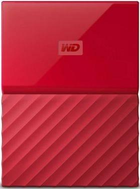 Внешний жесткий диск 2Tb WD My Passport WDBLHR0020BRD-EEUE красный USB 3.0