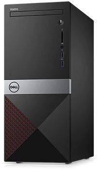 Компьютер Dell Vostro 3670 черный (3670-3100)