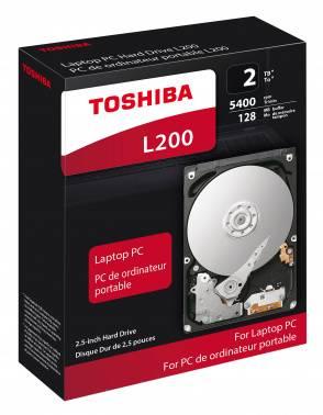 Жесткий диск 2Tb Toshiba L200 HDWL120EZSTA SATA-III