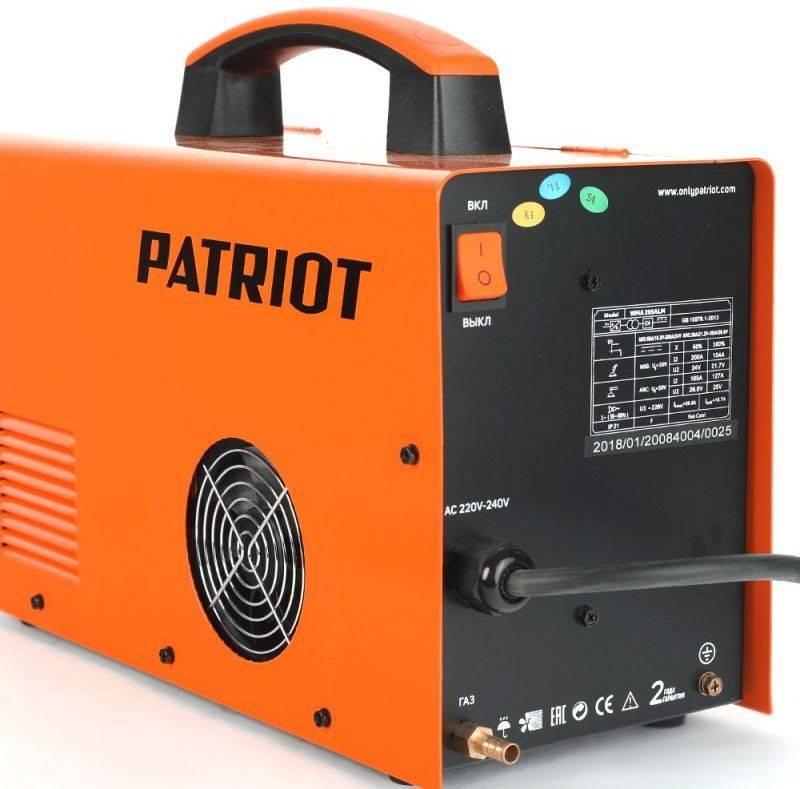 Сварочный аппарат Patriot WMA 205ALM (605301865) - фото 2