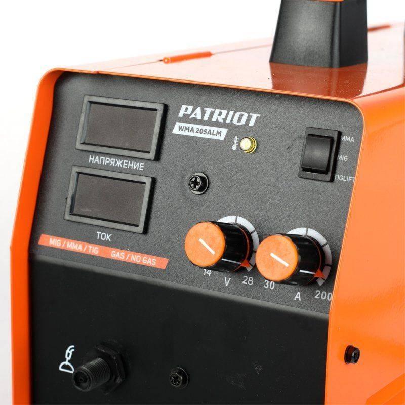 Сварочный аппарат Patriot WMA 205ALM (605301865) - фото 3
