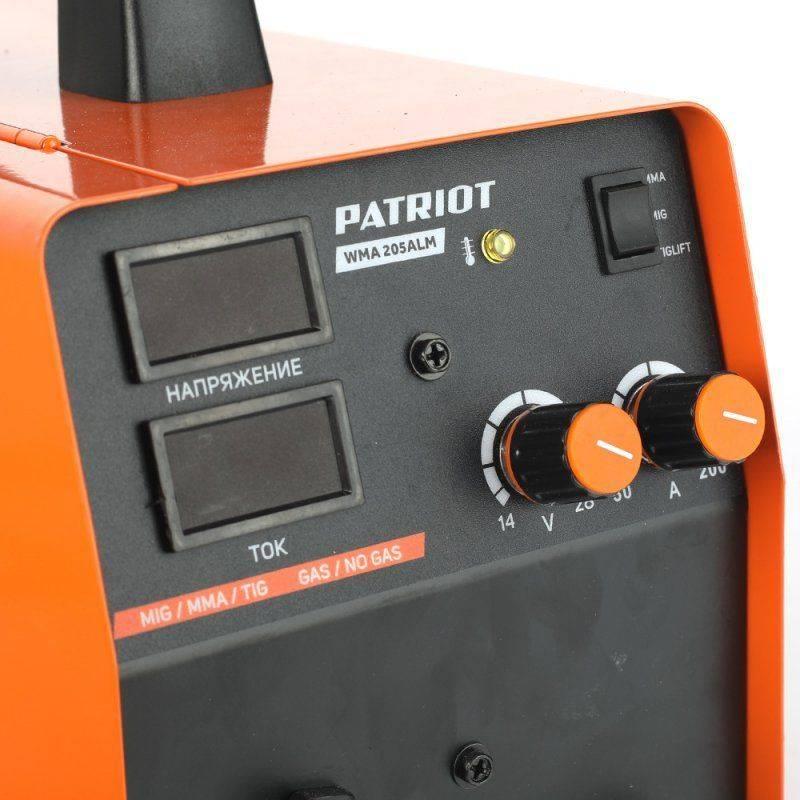 Сварочный аппарат Patriot WMA 205ALM (605301865) - фото 4