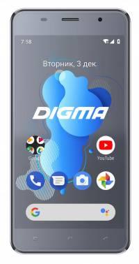Смартфон Digma Linx X1 3G 16ГБ темно-серый (LS4050MG)