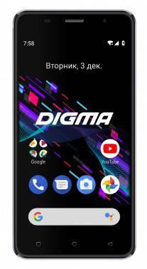 Смартфон Digma Linx X1 Pro 3G 16ГБ черный (LS4051MG)