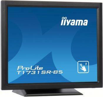 "Монитор 17"" Iiyama T1731SR-B5 черный"