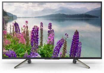 Телевизор Sony BRAVIA KDL43WF804BR черный/серебристый