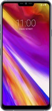 Смартфон LG G7 G710E 64ГБ платиновый (LMG710EMW.ACISPL)