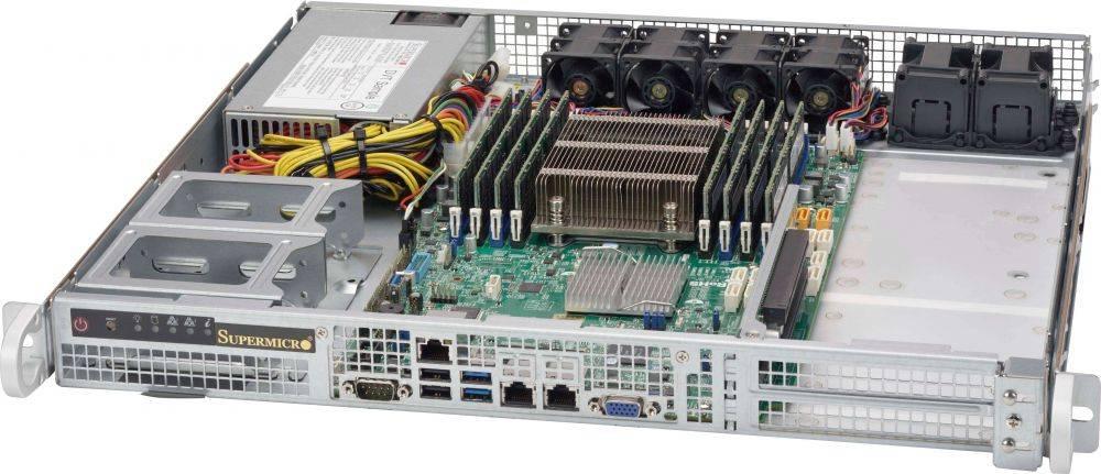 Корпус SuperMicro CSE-515-505 500 Вт серебристый - фото 2