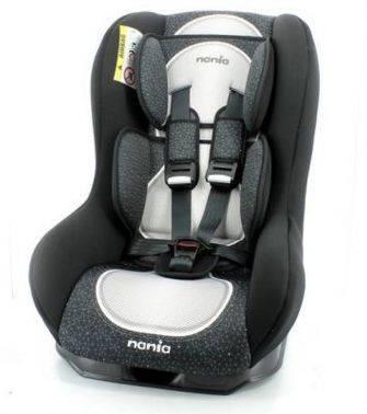 Автокресло детское Nania Driver FST (skyline black) черный (044098)