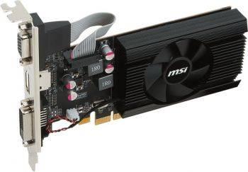 Видеокарта MSI Radeon R7 240 2048 МБ (R7 240 2GD3 64B LP)