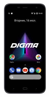 Смартфон Digma Linx Base 4G 8ГБ серый (LT5052ML)
