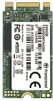 Накопитель SSD 240Gb Transcend TS240GMTS420S SATA III