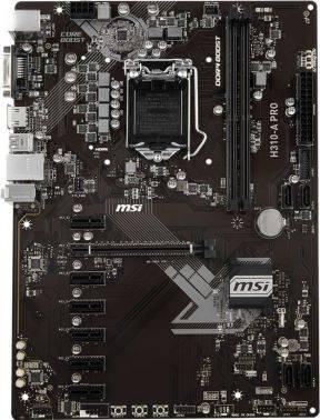 Материнская плата MSI H310-A PRO Soc-1151v2 ATX