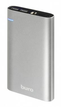Мобильный аккумулятор BURO RCL-21000 темно-серый