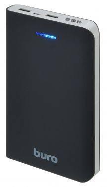 Мобильный аккумулятор BURO RA-30000 черный