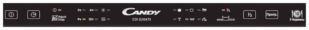 Посудомоечная машина Candy CDI 2L10473-07 (32900621) - фото 2