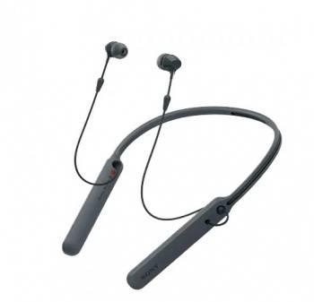 Гарнитура Sony WI-C400 черный (WIC400B.E)