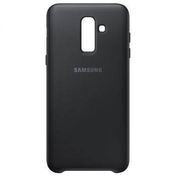Чехол Samsung Dual Layer Cover, для Samsung Galaxy J8 (2018), черный (EF-PJ810CBEGRU)