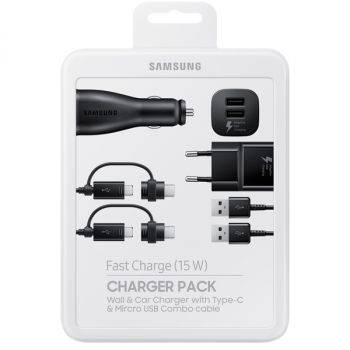Комплект зар./устр. Samsung EP-U3100 черный (EP-U3100WBRGRU)