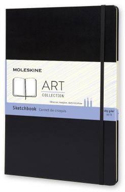Блокнот Moleskine CLASSIC Sketchbook A4 черный (ARTBF832)